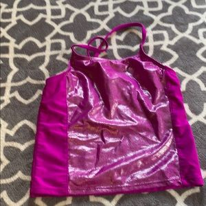 Other - Purple Swim Top. Girls Size 7/8. Used